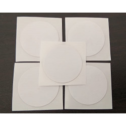 LINQS® Ultralight EV1 NFC Tag Stickers (Pack of 5) | Compatible with All NFC Phones