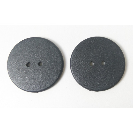 LINQS® - Laundry NFC Tag Button (Set of 2) | for Smart Shirt, Apparel, Shoes | Washable