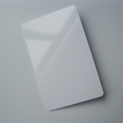LINQS® NFC PVC Card (Set of 10) | NXP NTAG213 Chip | White - Printable