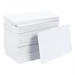 LINQS® NFC PVC Card (Set of 10) | NXP NTAG213 Chip | White - Inkjet Printable