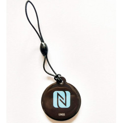LINQS® - High Memory 888 Bytes Jelly NTAG216 NFC Tag (Set of 1) | for All NFC Phones | Keychain Epoxy NFC Tags